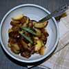 Super Simple Roasted Tarragon Potatoes