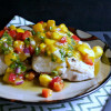 Grilled Mahi-Mahi with Mango Mint Salsa