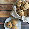 Whole Wheat Hot Cross Buns with Dried Berries