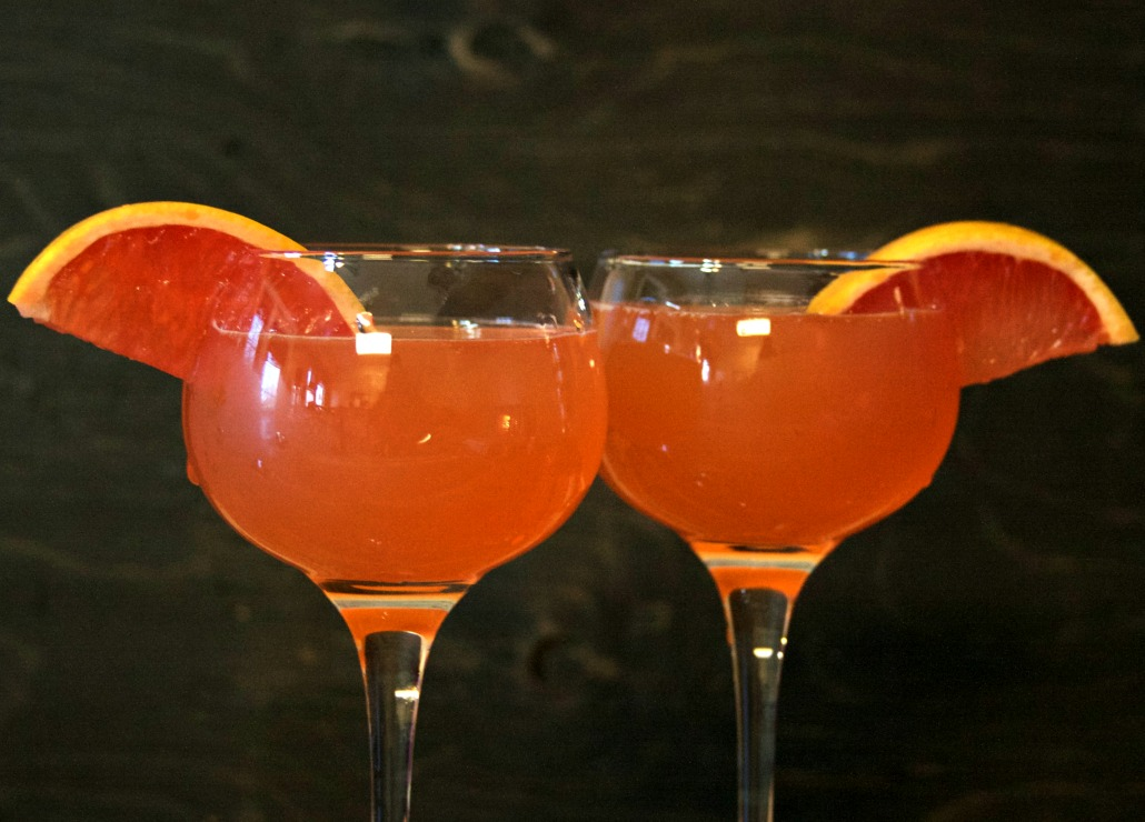 IPA Simple Syrup Grapefruit Cocktail ~ Chews and Brews